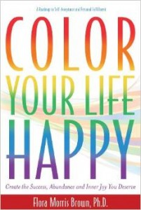 Color Your Life Happy Flora Brown